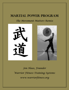 Martial Power Cover1