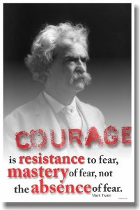 Mark Twain Courage